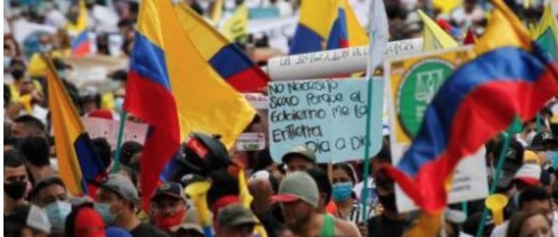 Las líneas clave de la Iglesia Católica ante la situación crítica que vive Colombia